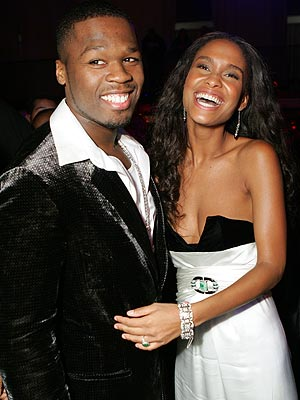 IF HE WERE A 'RICH' MAN ... photo | 50 Cent, Joy Bryant
