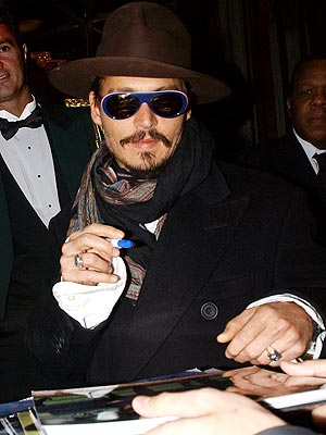 MASTER OF DISGUISE photo | Johnny Depp