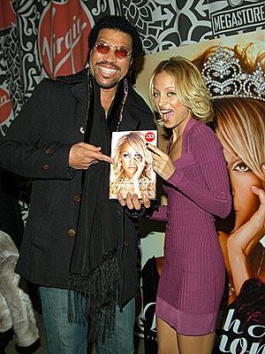 BOOK SMART photo | Lionel Richie, Nicole Richie