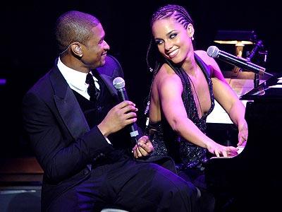 SWEET DUET photo | Alicia Keys, Usher