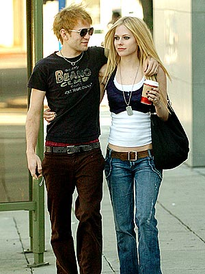 BANDED TOGETHER photo | Avril Lavigne, Deryck Whibley