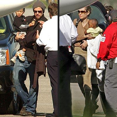 FLIGHT PLAN photo | Angelina Jolie, Brad Pitt