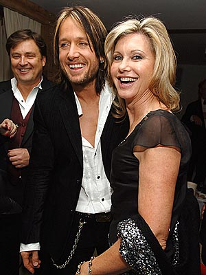 AUSSIE POSSE photo | Keith Urban, Olivia Newton-John