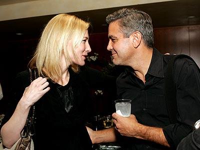 'GOOD' FRIENDS photo | Cate Blanchett, George Clooney
