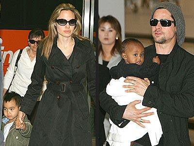 WORLD TRAVELERS photo | Angelina Jolie, Brad Pitt