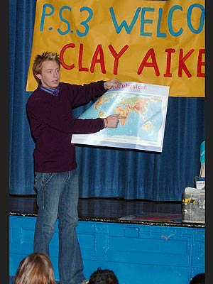 GEOGRAPHY LESSON photo | Clay Aiken