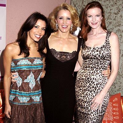 BLOCK PARTY photo | Eva Longoria, Felicity Huffman, Marcia Cross