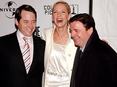 COMEDY TONIGHT! photo | Matthew Broderick, Nathan Lane, Uma Thurman