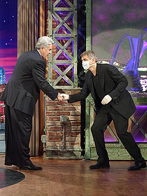 THE DR. IS IN! photo | George Clooney, Jay Leno