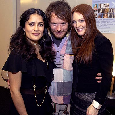 NOBEL EFFORT photo | Damien Rice, Julianne Moore, Salma Hayek