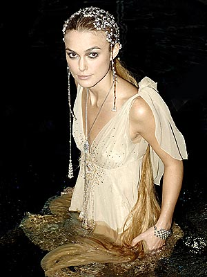 TAKING THE PLUNGE photo   Keira Knightley