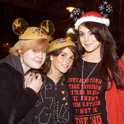 THREE MOUSEKETEERS photo | Kelly Osbourne, Lindsay Lohan