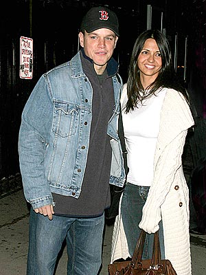 THE HAPPY COUPLE photo | Luciana Barroso, Matt Damon