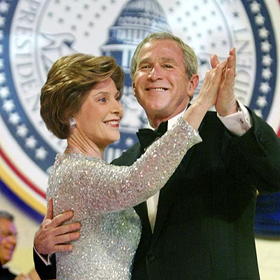 BIGGEST PARTY HOPPERS photo | George W. Bush, Laura Bush