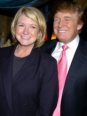 BUSIEST INMATE photo | Donald Trump, Martha Stewart