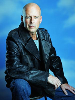 #3 Bruce Willis. Bruce_Willis_bald/ (born March 19, 1955) is a Golden Globe- ...