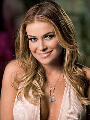 Carmen Electra and Dave Navarro is over