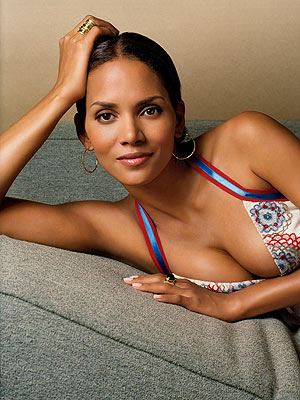 Halle Berry hot poster