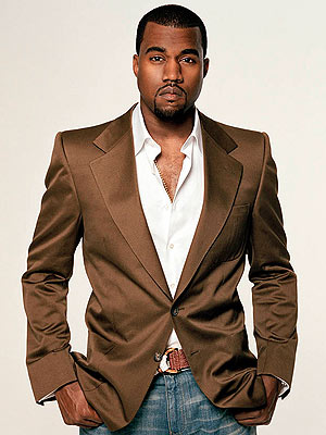 kanye west1 300 400 Kanye Wests House Burglarized?