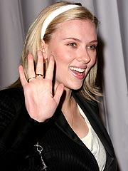 Caught in the Act!| Scarlett Johansson