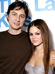 Caught in the Act!| Rachel Bilson, Zach Braff