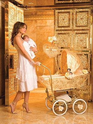 GOLDEN BOY photo | Melania Trump