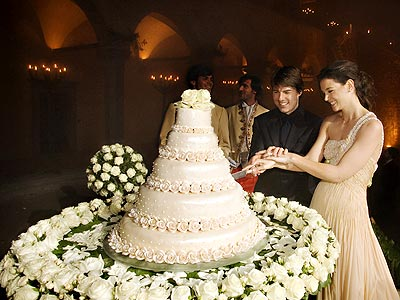 Celebrity Wedding Cakes