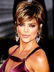 Lisa Rinna after lip reduction