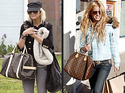 THEIR ACCESSORIES  photo | Ashlee Simpson, Jessica Simpson
