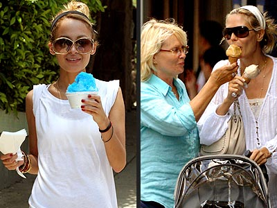 9. GET ICED photo | Heidi Klum, Nicole Richie