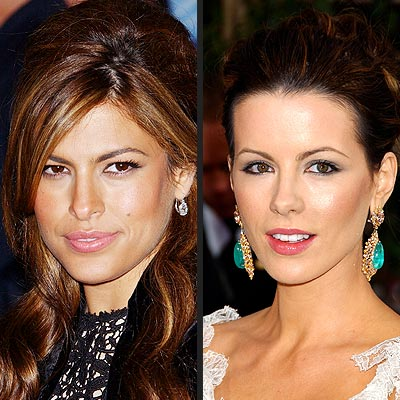 TREND: CANDY-PINK LIPS photo | Eva Mendes, Kate Beckinsale
