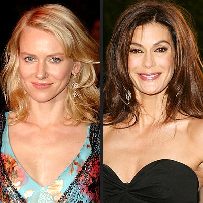 TREND: TOUSLED HAIR photo | Naomi Watts, Teri Hatcher