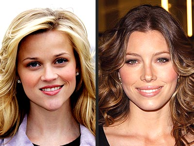 TREND: FLUSHED CHEEKS photo | Jessica Biel, Reese Witherspoon