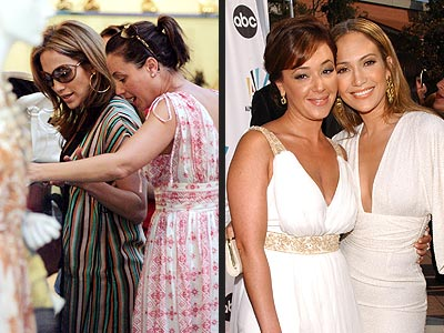 JENNIFER & LEAH: photo | Jennifer Lopez, Leah Remini