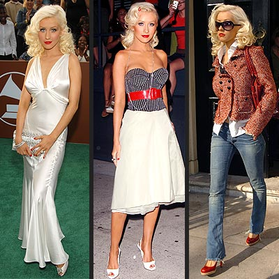 Best Dressed Stars - THE BOMBSHELL - Christina Aguilera : People.com
