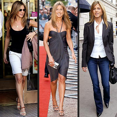 Jennifer Aniston and kettlebells photos