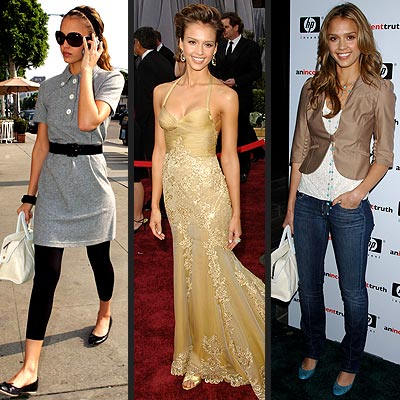 Jessica Alba long Hairstyle Medium Length Haircuts for Women