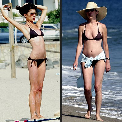 Star Bodies Hot Or Not LARA FLYNN BOYLE Peoplecom