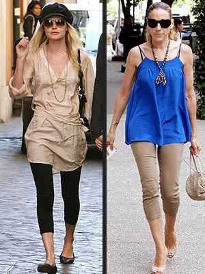 BEST: LEGGINGS photo | Kate Bosworth, Sarah Jessica Parker
