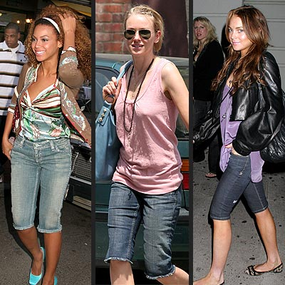 PEDAL PUSHERS photo | Beyonce Knowles, Lindsay Lohan, Naomi Watts
