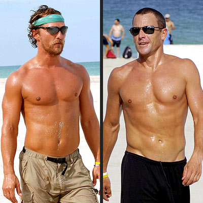 MATT VS. LANCE photo | Lance Armstrong, Matthew McConaughey