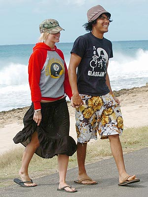 ASHLEE & BRAXTON photo | Ashlee Simpson, Braxton Olita