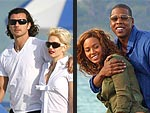 Star Couples&#39; Beach Style | Gavin Rossdale, Gwen Stefani