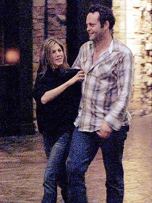 JEN & VINCE photo | Jennifer Aniston, Vince Vaughn