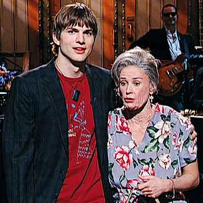 Ashton & his Beautiful Wife