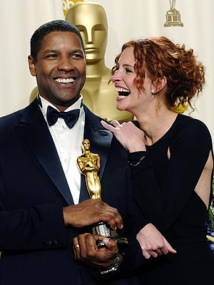 KEEPING IT REAL  photo | Denzel Washington, Julia Roberts