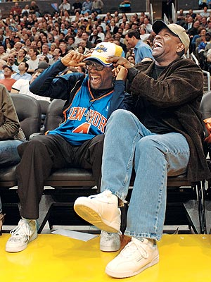 SLAM DUNK photo | Denzel Washington, Spike Lee