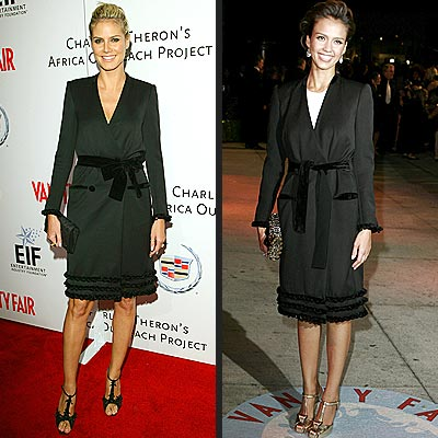 HEIDI VS. JESSICA photo | Heidi Klum, Jessica Alba