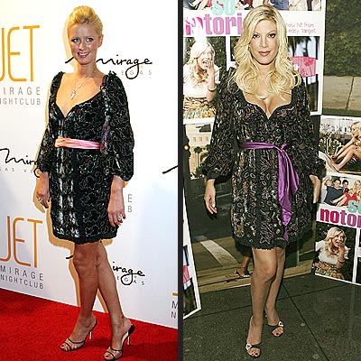 NICKY VS. TORI photo | Nicky Hilton, Tori Spelling