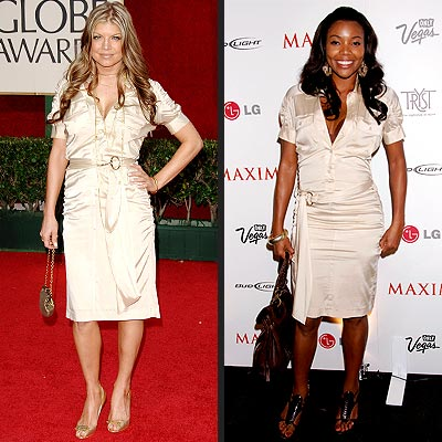 FERGIE VS. GABRIELLE photo | Fergie, Gabrielle Union